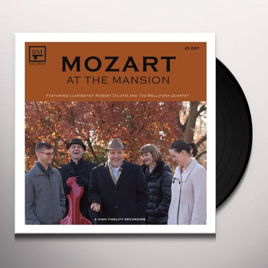 Robert Dilutis MOZART AT THE MANSION Vinyl Record