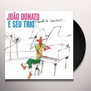 Joao Donato MUITO A VONTADE Vinyl Record