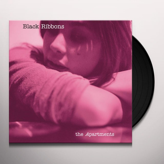 The Apartments BLACK RIBBONS Vinyl Record