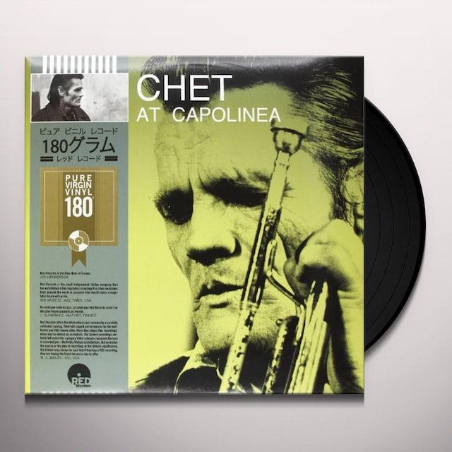 Chet Baker AT CAPOLINEA Vinyl Record