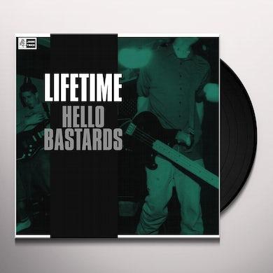 Lifetime HELLO BASTARDS (TRANS CLEAR VINYL) Vinyl Record