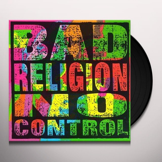 Bad Religion NO CONTROL Vinyl Record