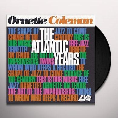Ornette Coleman ATLANTIC YEARS Vinyl Record