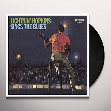 Lightnin Hopkins SINGS THE BLUES Vinyl Record