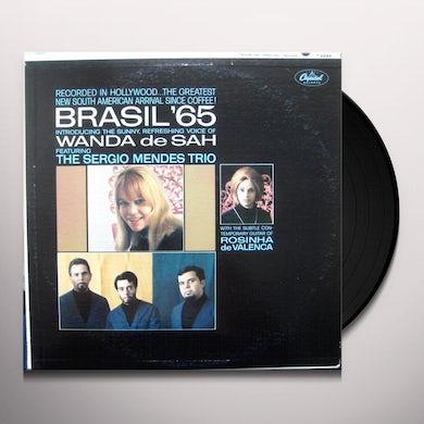 Sergio Mendes & Wanda De Sah BRASIL 65 IS HERE Vinyl Record