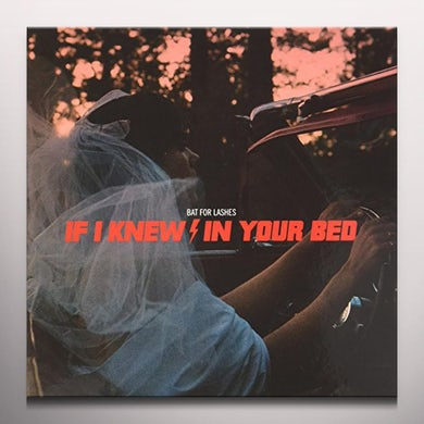 Bat For Lashes IF I KNEW (MAGENTA VINYL) Vinyl Record