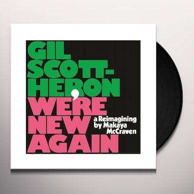 Gil Scott-Heron WE'RE NEW AGAIN - A REIMAGINING BY MAKAYA MCCRAVEN Vinyl Record