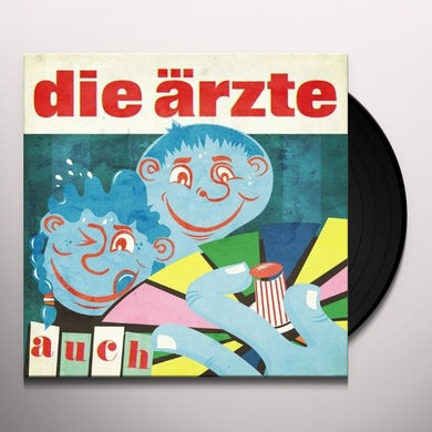 Die Arzte AUCH (BONUS CD) Vinyl Record