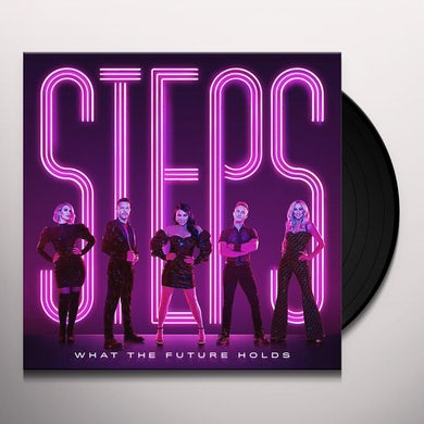 Steps WHAT THE FUTURE HOLDS Vinyl Record