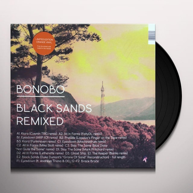 Bonobo BLACK SANDS REMIXED Vinyl Record
