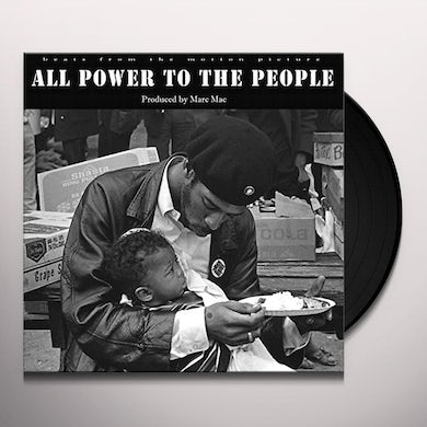 Marc Mac ALL POWER TO THE PEOPLE Vinyl Record