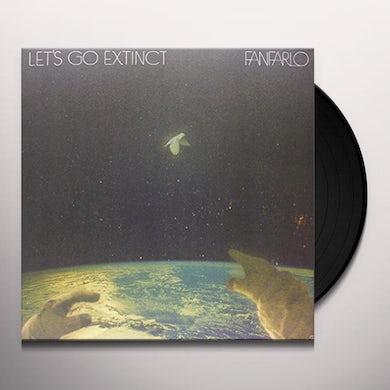Fanfario LET'S GO EXTINCT Vinyl Record - UK Release