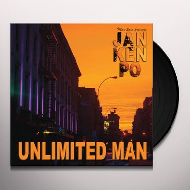 Essa.Max Presents Jan Ken Po UNLIMITED MAN Vinyl Record