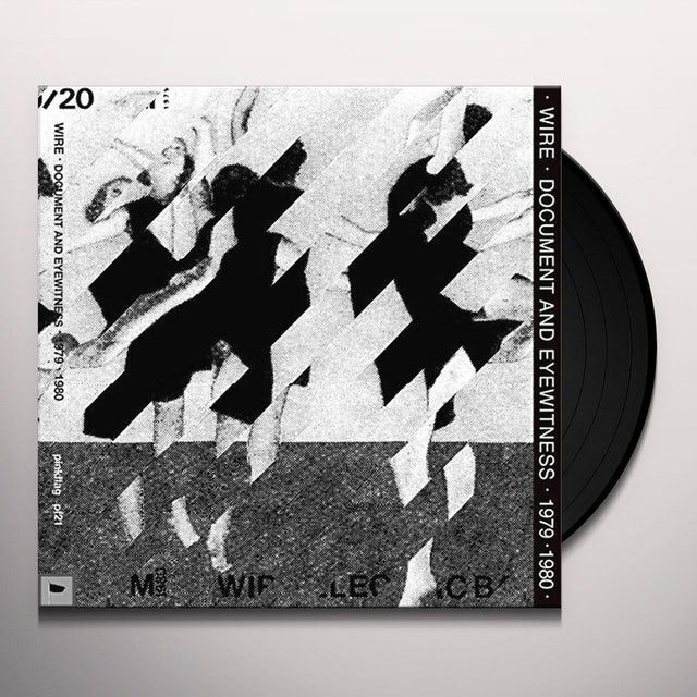 Wire DOCUMENT & EYEWITNESS 1979-1980 Vinyl Record