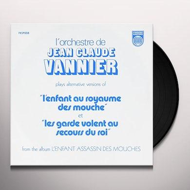 Jean-Claude Vannier L'ENFANT ASSASSIN DES MOUCHES ALTERNATE TAKES Vinyl Record