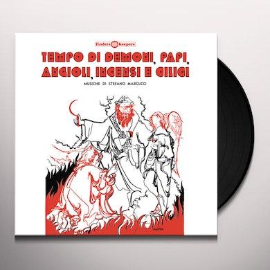 Stefano Marcucci TEMPO DI DEMONO PAPI ANGIOLI INCENSI - Original Soundtrack Vinyl Record