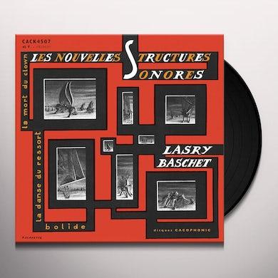 Lasry-Baschet LES NOUVELLES STRUCTURES SONORES Vinyl Record
