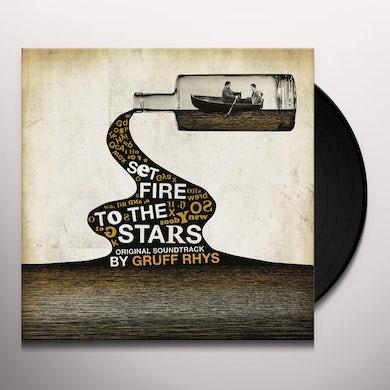 Gruff Rhys SET FIRE TO THE STARS - Original Soundtrack Vinyl Record