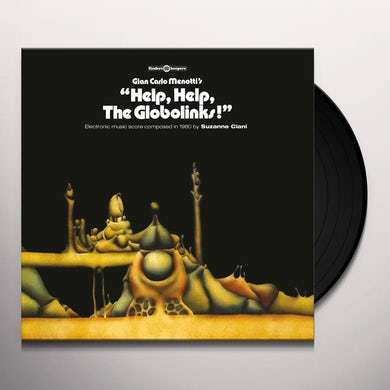 Suzanne Ciani  HELP HELP THE GLOBOLINKS - Original Soundtrack Vinyl Record