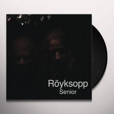 Royksopp SENIOR Vinyl Record - UK Release