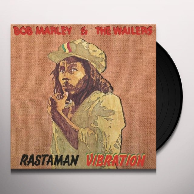 Bob Marley RASTAMAN VIBRATION Vinyl Record - 180 Gram Pressing