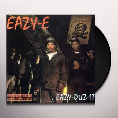 Eazy-E EAZY-DUZ-IT Vinyl Record - UK Release
