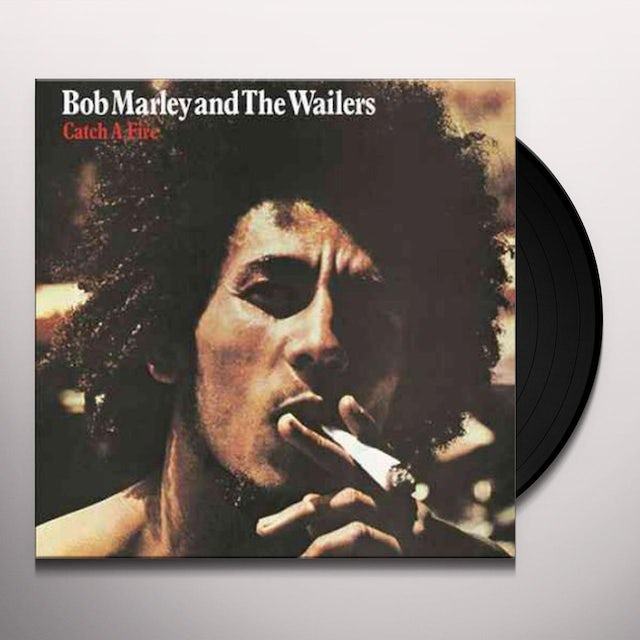 Bob Marley CATCH A FIRE Vinyl Record