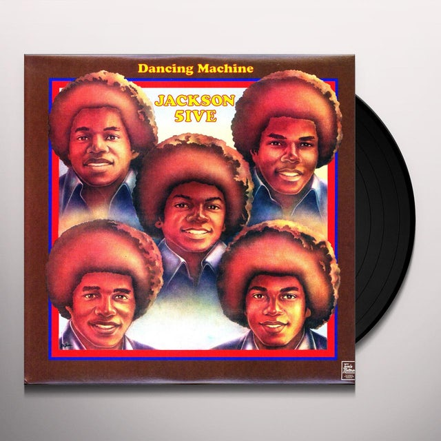 The Jackson 5 DANCING MACHINE Vinyl Record