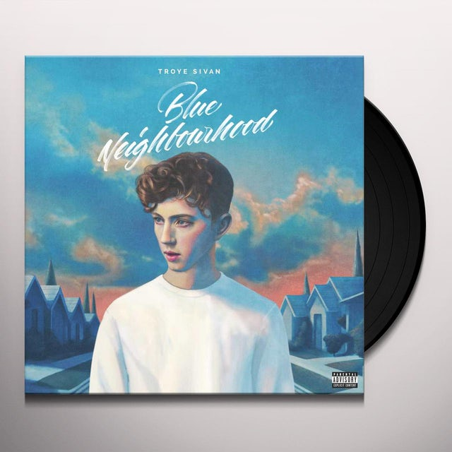 Troye Sivan BLUE NEIGHBOURHOOD Vinyl Record
