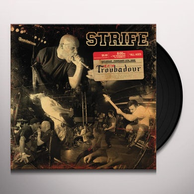 Strife LIVE AT THE TROUBADOUR Vinyl Record