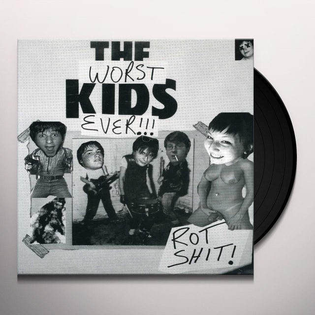 Rotshit WORST KIDS EVER Vinyl Record