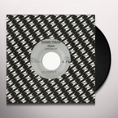 Clipse LET'S TALK ABOUT IT / GANGSTA LEAN Vinyl Record