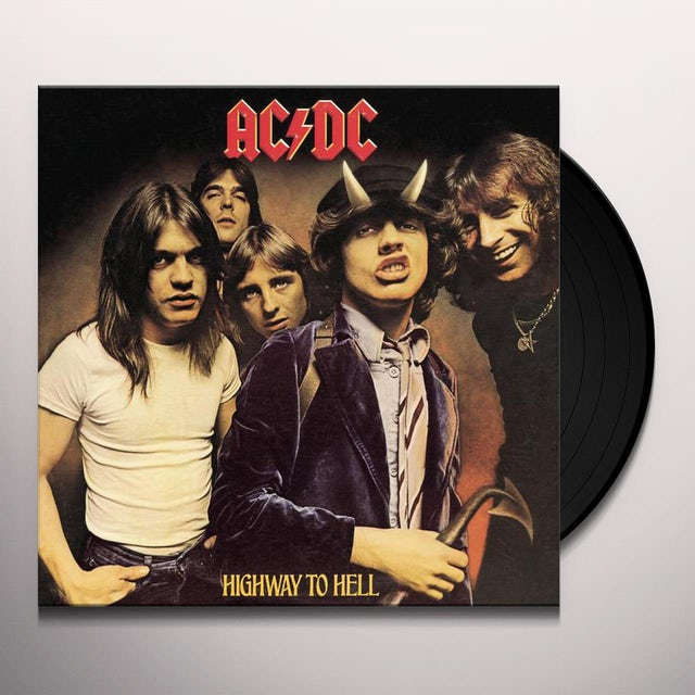 AC/DC HIGHWAY TO HELL Vinyl Record