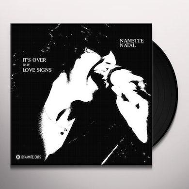 IT'S OVER Vinyl Record