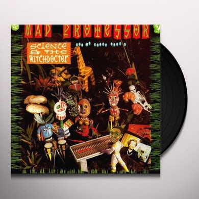 Mad Professor SCIENCE & THE WITCHDOCTOR-DUB ME CRAZY PART 9 Vinyl Record