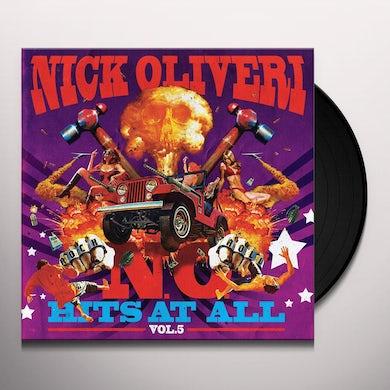 Nick Oliveri N.O. HITS AT ALL 5 Vinyl Record