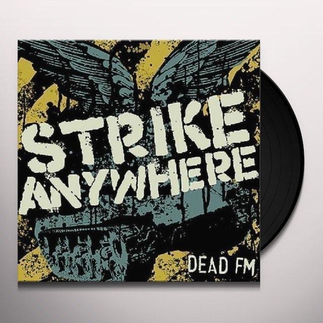 Strike Anywhere DEAD FM Vinyl Record