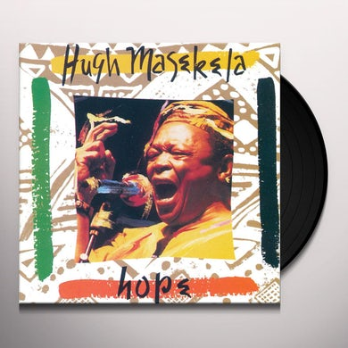 Hugh Masekela HOPE Vinyl Record