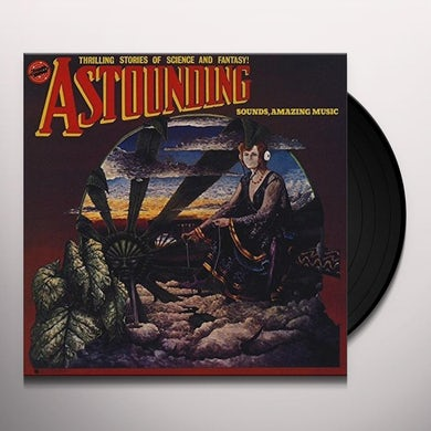 Hawkwind ASTOUNDING SOUNDS AMAZING MUSIC Vinyl Record