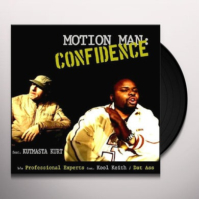 Motion Man CONFIDENCE Vinyl Record