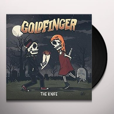 Goldfinger KNIFE - Limited Edition Colored Vinyl Record