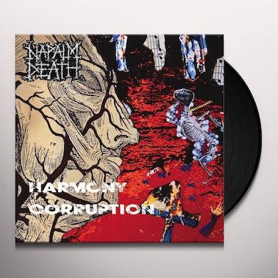 Napalm Death HARMONY CORRUPTION Vinyl Record