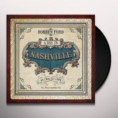 Robben Ford DAY IN NASHVILLE Vinyl Record