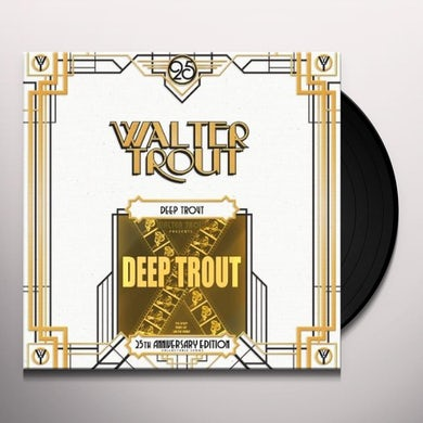 Walter Trout DEEP TROUT: 25TH ANNIVERSARY SERIES Vinyl Record