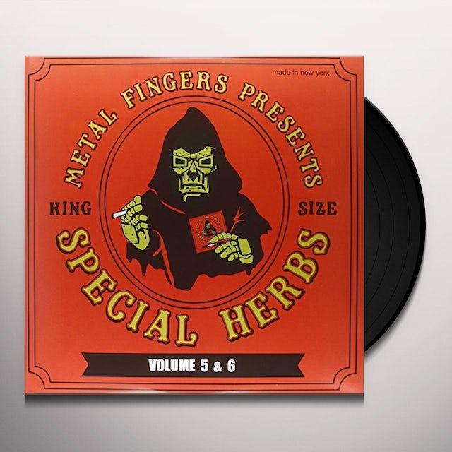 MF DOOM SPECIAL HERBS 5 & 6 Vinyl Record