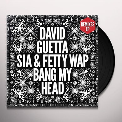 David Guetta BANG MY HEAD Vinyl Record
