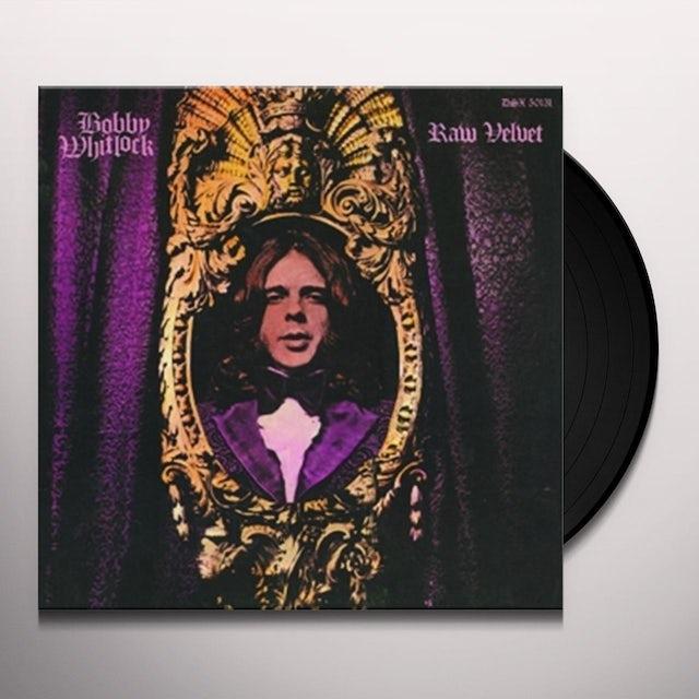 Bobby Whitlock RAW VELVET Vinyl Record