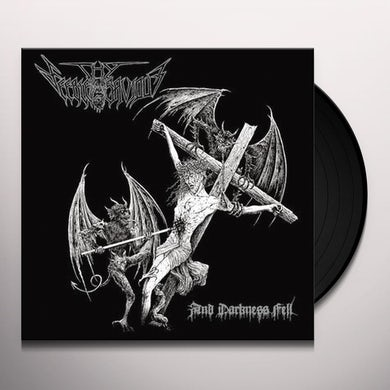 Feeble Savior DARKNESS FELL Vinyl Record