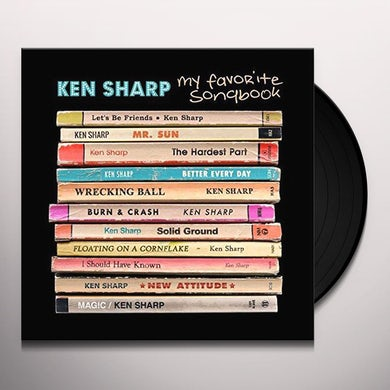 Ken Sharp MY FAVORITE SONGBOOK Vinyl Record
