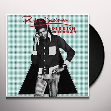 Derrick Morgan PEOPLE DECISION Vinyl Record